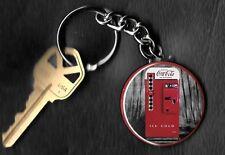 Coca-Cola Machine COKE Keychain Key Chain 1950's