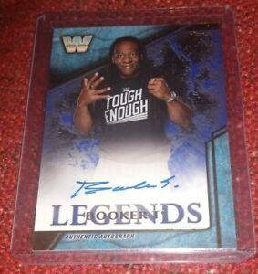 Booker T 2017 WWE Topps Legends Autograph Auto Signature Card #'d 4/25