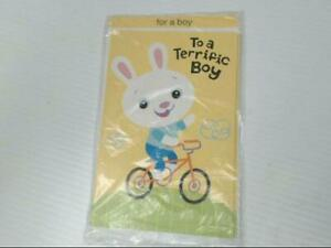 """American Greetings For a Boy Easter Card """"For a Terrific Boy"""" Retail Pack of 6"""