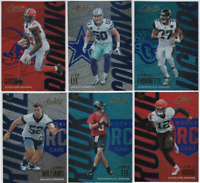 2018 Panini Absolute Football - Spectrum Blue Parallels - Choose Card #'s 1-150