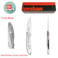 Kershaw Leek Pocket Knife, 3 inch Blade,Great EDC Folding Knives,Made in the USA