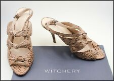 WITCHERY WOMEN'S HIGH HEEL OPEN TOE DRESS SHOES SIZE 8.5 AUST 40 EUR WORN ONCE