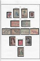 france 1953 stamps page ref 19808