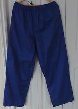 Husqvarna Waterproof Pants Mens XL Extra Large Blue Drawstring Waist Adjustable