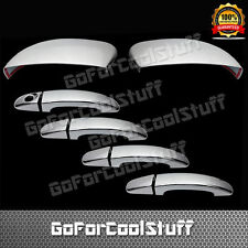 FOR FORD Escape 13-14 4 Door handle w/o PSKH+Mirror w/o signal CHROME COVERS