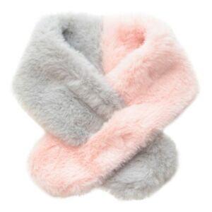 Plush Pet Dog Scarf Collar Neckerchief Pet Puppy Cat Winter Neck Warmer New