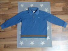 Armani Junior Pullover Pulli Junge Gr.: 128 Sweatshirt edel NEU blau Polokragen