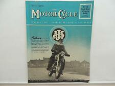 May 1958 THE MOTORCYCLE Magazine AJS Sports Twin 600 BSA Norton L8266