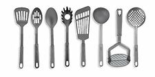 Classic 8 Piece Cooking Utensils Tools Set ~ Black Nylon ~ Heat Resistant ~