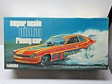 REPRODUCTION DECALS: RARE 1974 Aurora 1/16  Pinto Funny Car PHANTOM or MAGICIAN