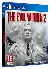 EVIL WITHIN 2 JEU PS4 NEUF