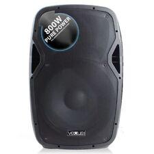 "CASSA AMPLIFICATA ATTIVA 800W WOOFER 38 CM /15"") FULL RANGE IN ABS DJ PALCO LIVE"