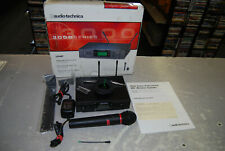 Audio Technica 3000 Series Wireless Microphone Atw-R310 in box Missing Parts