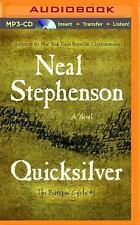 Baroque Cycle: Quicksilver 1 by Neal Stephenson (2014, MP3 CD, Unabridged)