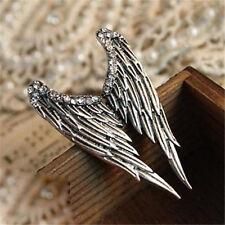 Vintage Retro Punk Ring Gothic 5cm Wings Princess Ring Women Girl Ring Gift ♫
