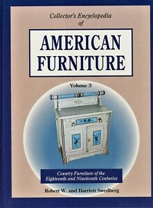 American 18th-19th Century Country Primitive Furniture Types / Book + Values
