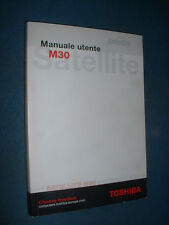 User Manual PersonalComputer Laptop Toshiba Satellite m30 Series