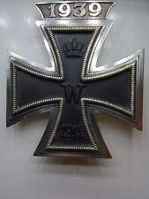 Iron Cross EK1 With 1939 Clasp C.E.Juncker Private Purchase Piece Genuine
