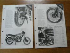 H515 HONDA  BROCHURE  PROSPEKT CB 900 F 1982 DUTCH 2 PAGES CB900F