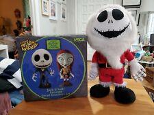 """Nightmare Before Christmas 14"""" Animated Jack Skellington neca head knockers set"""
