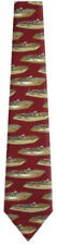 Men's Old Vintage Speedboats Necktie Ties - New With Tags