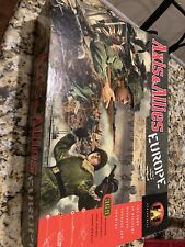 Axis & Allies Europe War Military Strategy Board Game Vintage 1999 Avalon Hill