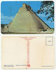 27977-Maya-PIRAMIDE-Uxmal - Messico-Yucatan-vecchia cartolina