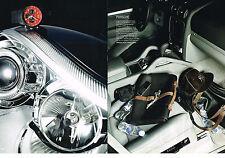 PUBLICITE ADVERTISING 054  2007   PORSCHE   accessoires  ( 2 pages)