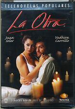 """LA OTRA"" DVD * Telenovela * Gently Used *3-Disc Boxset* Juan Soler"