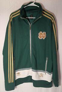 Vintage Adidas Notre Dame Track Jacket