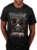 Official Bullet For My Valentine Temper Temper Gas Mask T-Shirt New Band Merch