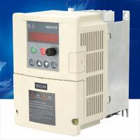 220V 2.2KW Single Phase Input & Three Phase Output Frequency Converter Inverter