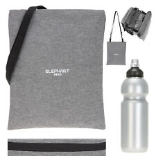 Turnbeutel Elephant Signature Attach Bag Sportbeutel Sport 12726 Two Tone Grau+f