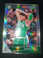 Jayson Tatum 2019-20 NBA Hoops Premium Stock Silver Prizm Celtics