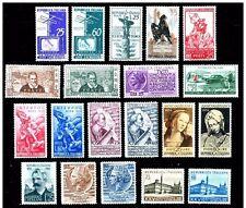 Italia repubblica 1954 annata completa 20V mnh