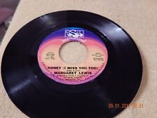 Margaret Lewis : Honey ( I Miss You Too ) 45 Rpm 1968  Answer Song To Honey