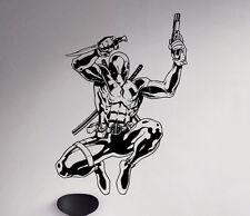Deadpool Wall Decal Antihero Vinyl Sticker Marvel Comics Art Decor Ideas 67(nse)