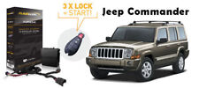 Flashlogic Add-On Remote Start for Jeep Commander 2009 V8 Plug And Play Harness
