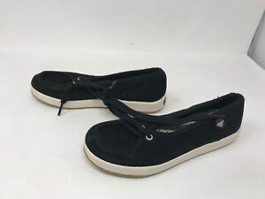 Womens Roxy (P457E76PK) Presidio Black Slip on Shoes 416C