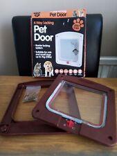 The Pet Shop 4 Way Locking Pet Door