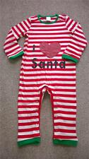 BNIP NEW CHRISTMAS BABYGROW 6-12 MONTHS ALL IN ONE COTTON ELF SANTA BNWT 9 BABY