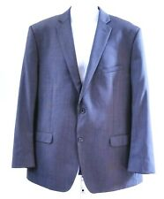 Joseph Abboud Mens Size 44R 100% Wool Charcoal Gray Suit Jacket Blazer