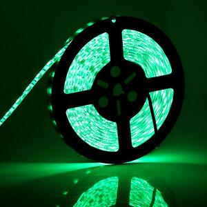 Green 5M 5050 SMD 300 LEDs 60led/M  Flexible LED Strip Light IP65 Waterproof