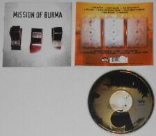 Mission of Burma - OnOffOn- U.S. promo cd, Gold DJ Stamp