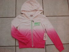 JUICY COUTURE  GIRL'S  -   HOODIE  SIZE- LARGE (14)    NWT PINK