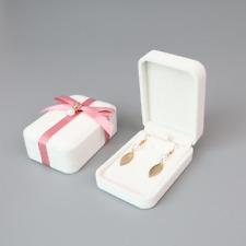 100x Womens Jewel Case Velour Velvet Big Rhinestone Pendant Earring Set Boxes