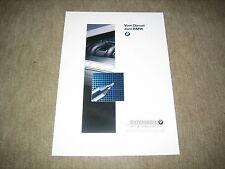 BMW 3er 318tds E36 + 5er 525td 525tds E34 Diesel Prospekt Brochure von 2/1994