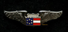 Continental AIR MICRONESIA AIRLINE WING HAT PIN UP FAA PILOT FLIGHT CREW GIFT