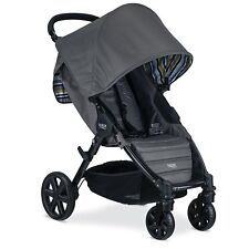Britax Pathway Stroller in Crew (Charcoal) Color Brand New! Free Shipping!