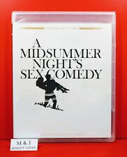 A MIDSUMMER NIGHT'S SEX COMEDY (1982) Twilight Time Blu Ray ~ Woody Allen ~ NEW
